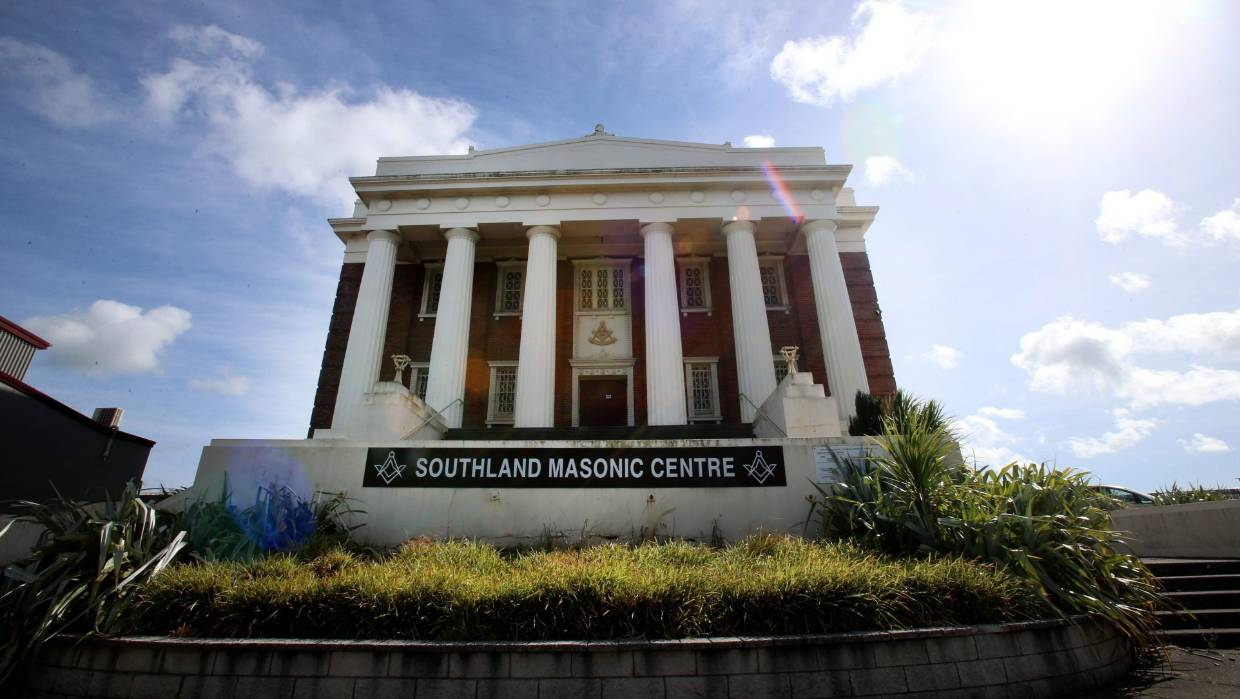 New Zealand - Southland Masonic Centre under contract with sale confirmation looming