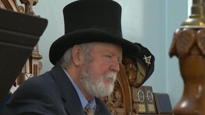 England - Ceremony honors longtime Bristol Freemasons
