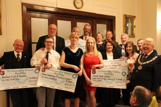 England - Generous donations by Freemasons help community projects