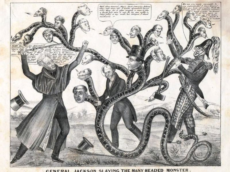 Conspiracy Theories Abounded in 19th-Century American Politics