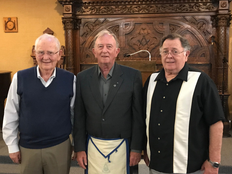 US - Swithenbank brothers represent 150 years of Freemasonry