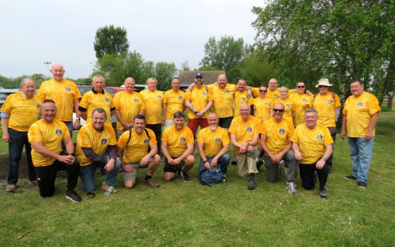 England - Freemasons' fundraising walk