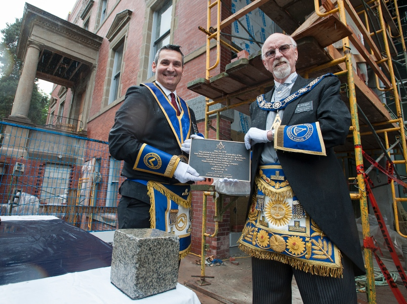 Canada - Freemasons return to New Westminster