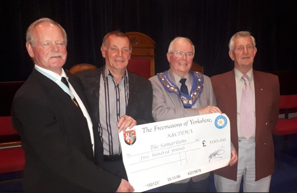 England - Freemasons help volunteers