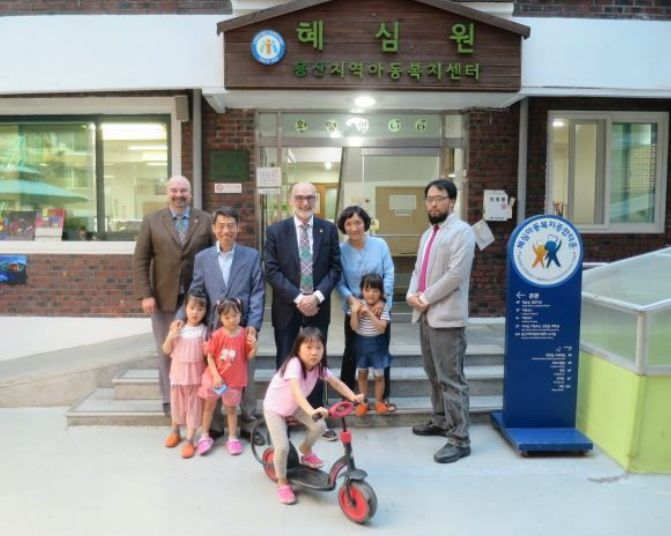 South Korea - Masonic lodge holds charity concert