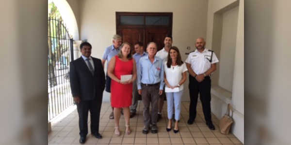 Bermuda - Freemasons Donate To Two Local Charities