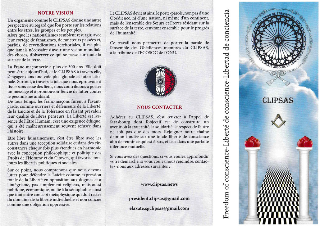 CLIPSAS leaflet
