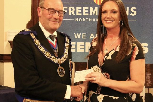 England - Freemasons donate £36,000 to charities