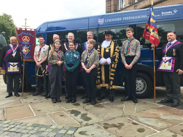 England - Cheshire Celebrates 150 of Royal Arch Freemasonry
