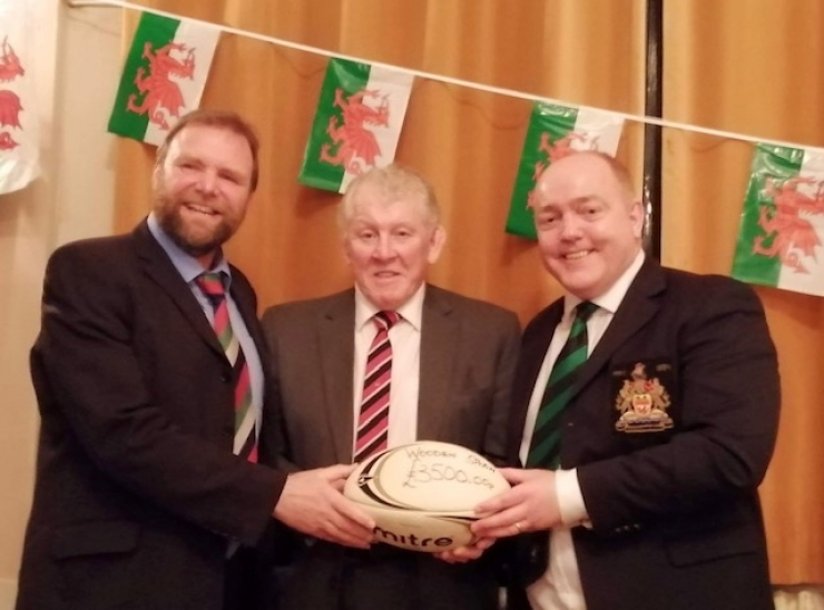 UK - Kick off for Welsh Rugby Clubs Lodge