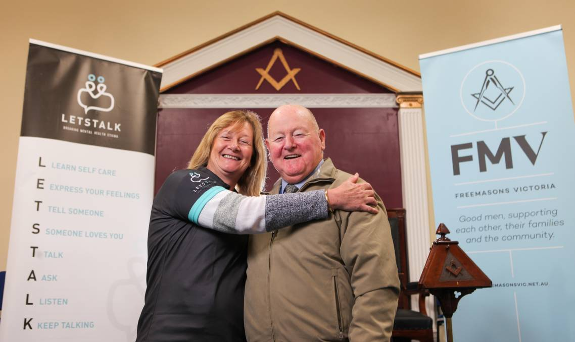 Australia - a donation from Freemasons will keep Let's Talk talking