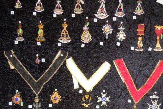 England - Masonic regalia stolen