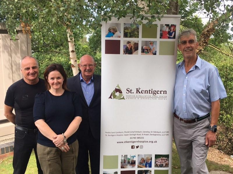 North Wales - £19,000 grant from Freemasons helps St Kentigern Hospice