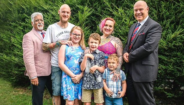 England - Rochdale Freemasons grant over £2,000 to help local family