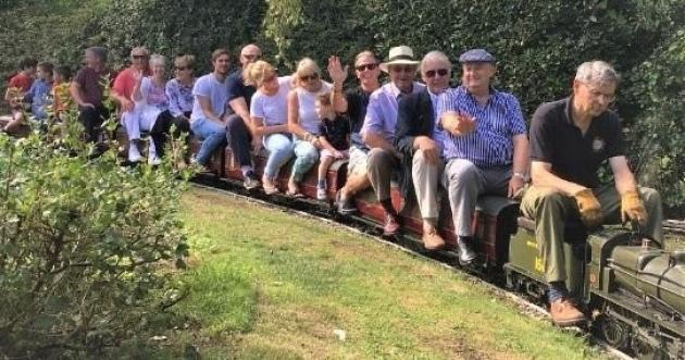 England - Full steam ahead as Cambridgeshire Freemasons raise £1,000