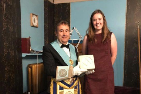 England - Fabulous gift for Filey Freemasons