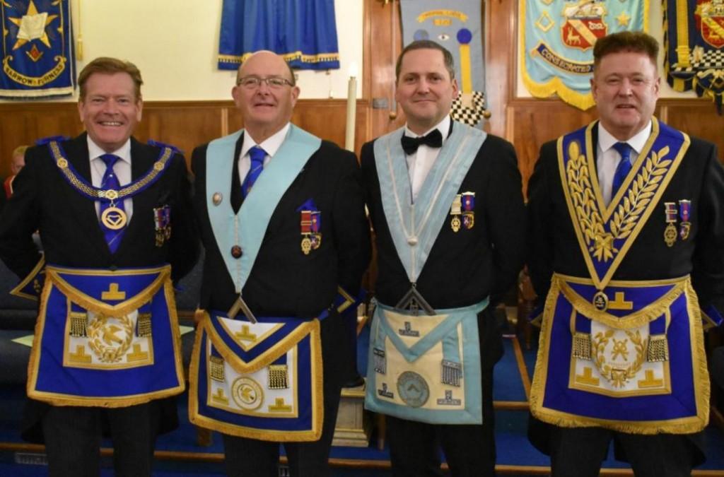 England - Hindpool Freemasons make charitable donation