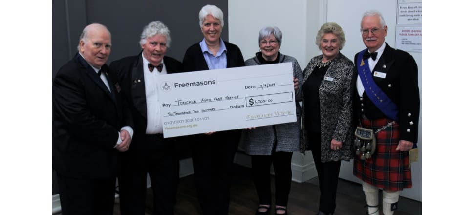 Australia - Tongala Aged Care benefits from Freemasons donation