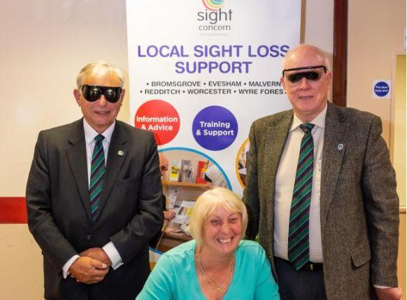 England - Worcester Freemasons help Sight Concern