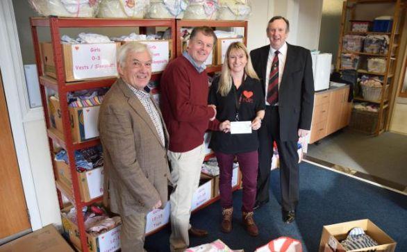 England - Freemasons donate £1,770 to help mums and babies
