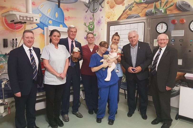 England - How teddy bears are making a special difference to poorly Teesside children