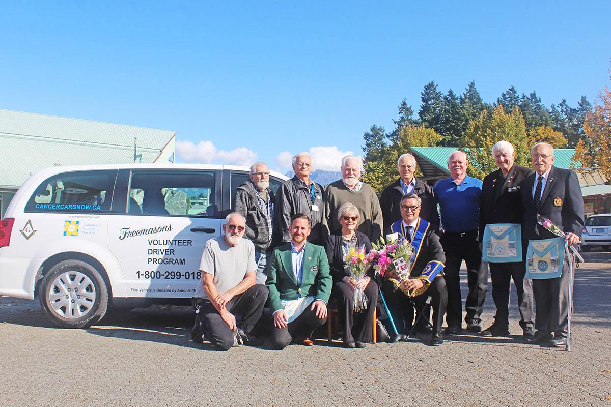 Canada - Qualicum Beach woman donates van to Freemasons' transportation program