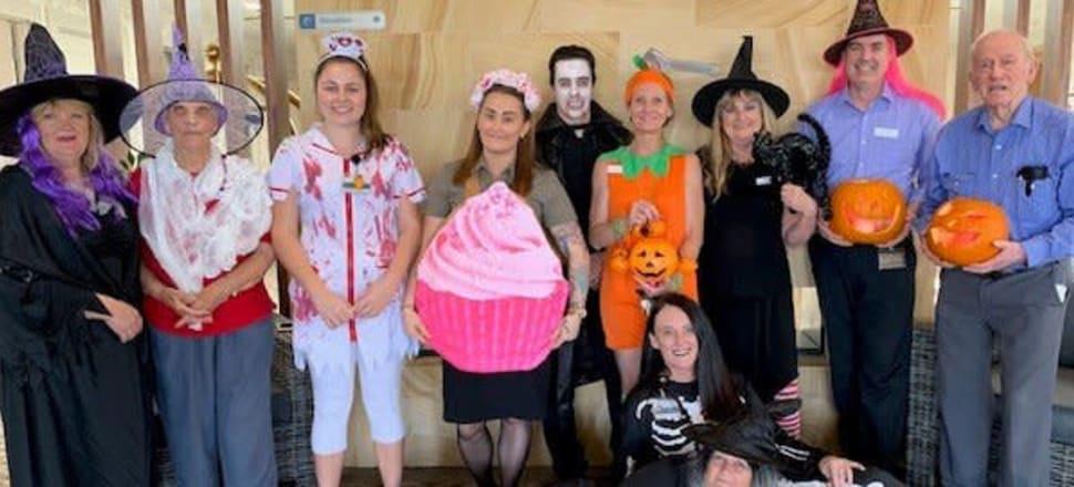Australia - Royal Freemasons steps into Halloween spirit