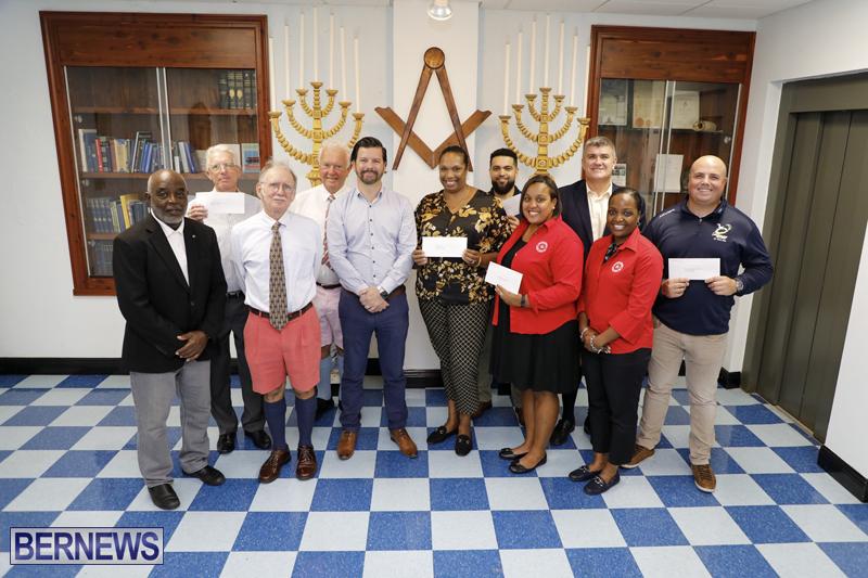 Bermuda - Freemasons Fund Donate To Charities
