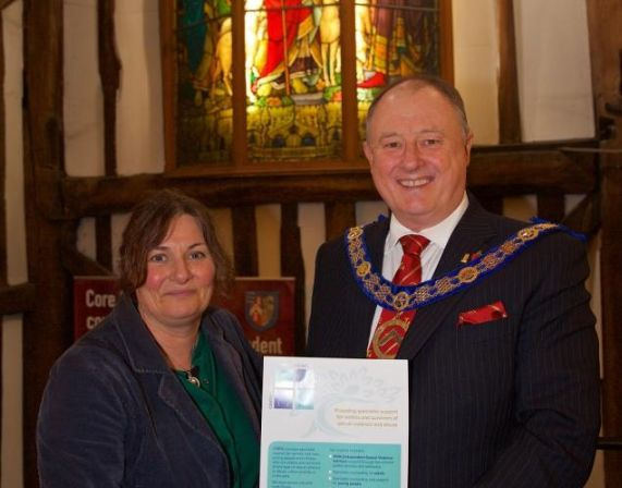 England - Essex Freemasons give £72k grant to Colchester charity CARA