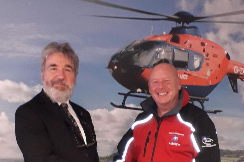 England - Devon Freemasons take national air ambulance donations past £2.4million
