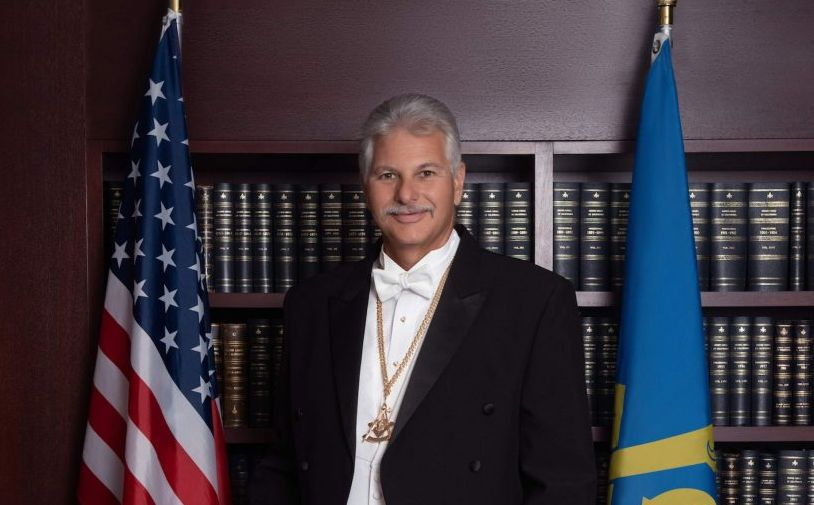 US - John Trauner becomes grand master of The Most Worshipful Grand Lodge of Free and Accepted Masons of California
