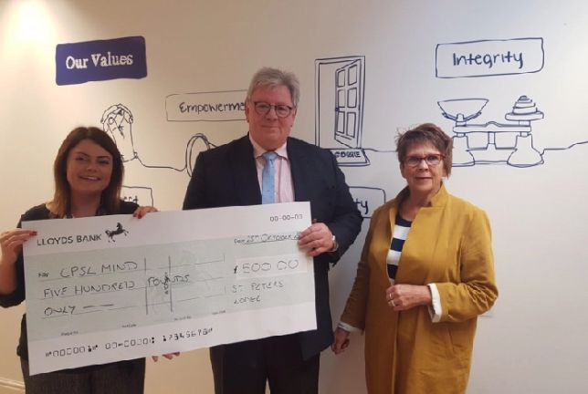 England - Freemasons donation will help Peterborough residents receive mental health support