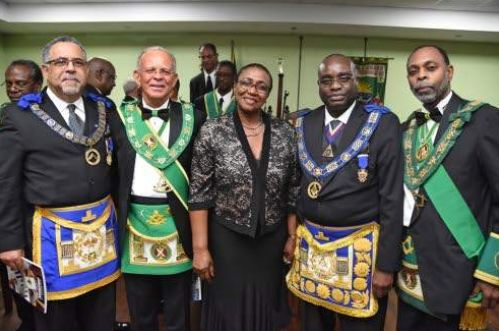 Jamaica - Scottish Freemasons celebrate their Patron Saint