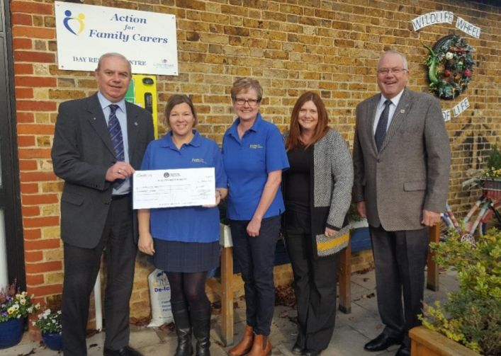 England - Maldon Freemasons provide funding boost for adult carers