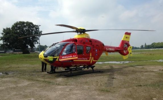 England - Cash boost for Midlands Air Ambulance from Worcestershire Freemasons