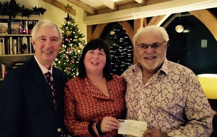 England - Spalding Freemasons give £500 boost to children's brain tumour charity, Anna's Hope