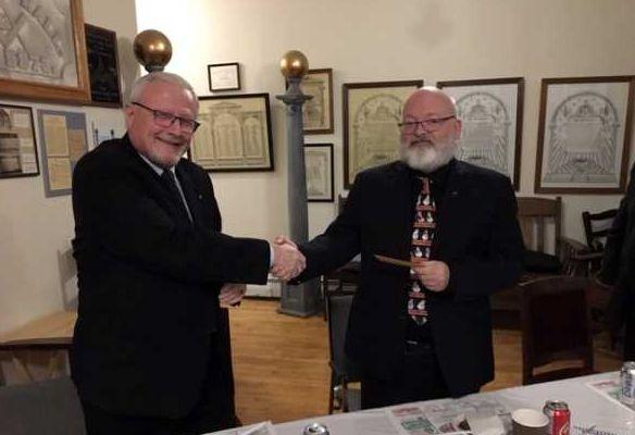 Canada - Local Freemasons donate to Vankleek Hill Food Bank