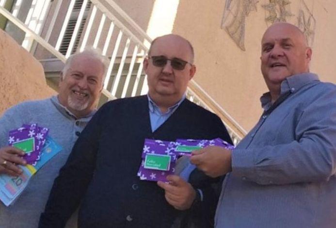 Spain - Local Freemasons visit the San Jose Obrero orphanage in Orihuela.