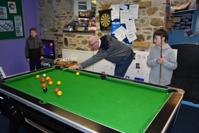 Wales - Masons make £10,000 grant to Fishguard's POINT