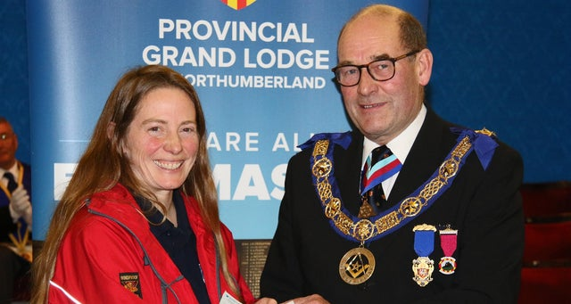 England - Freemasons fund good causes across the North East to the tune of £125,000