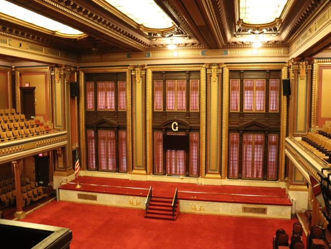 The Grand Lodge of New York - take a look inside