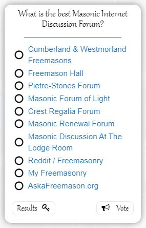 What is the best Masonic Discussion Forum?