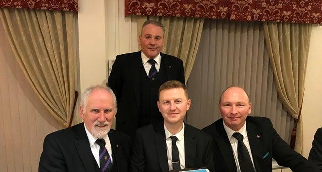 England - Celebrating 125 years of Peterborough Freemasons lodge