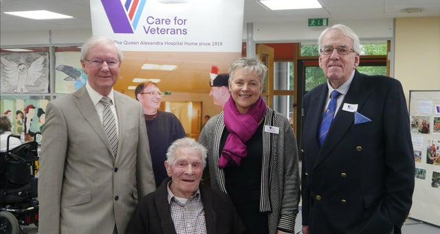 England - Worthing care charity receives donation from Sussex Freemasons