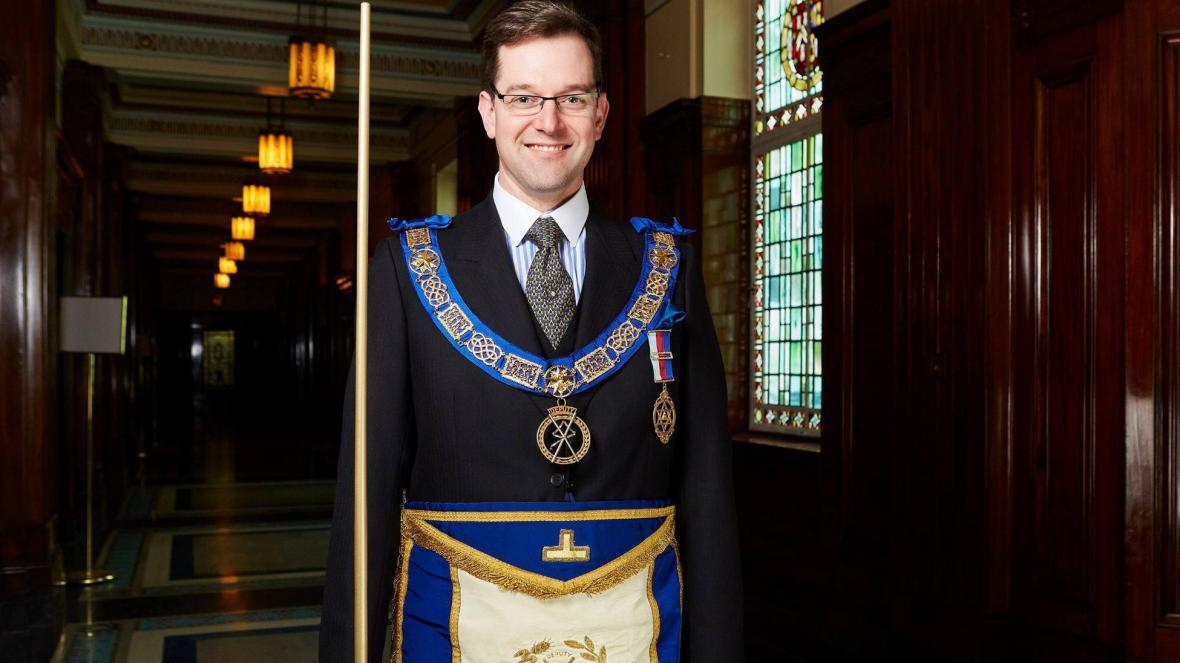 The Times: Freemasons' chief executive David Staples chips away at centuries of tradition