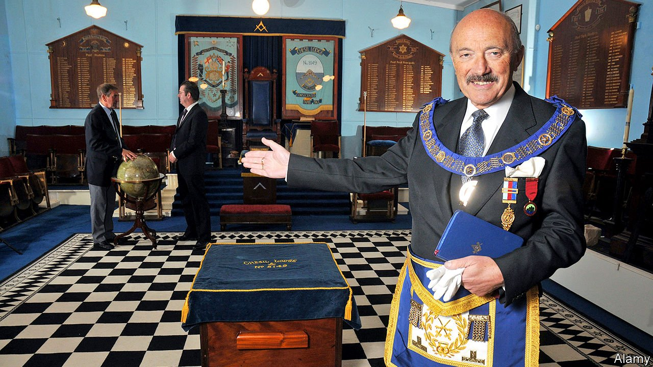 The Economist: Freemasons want to be known for hand wash, not handshakes