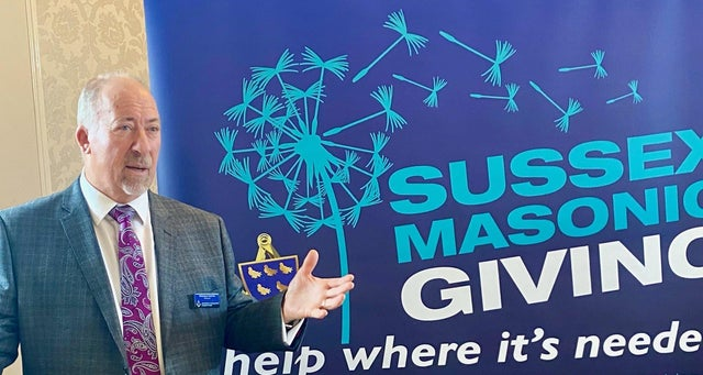 England - Sussex foodbanks to receive £28,000 support from Sussex Freemasons