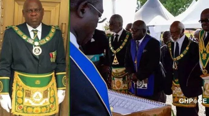 Ghana - Grand Master of Freemasons orders all 'masons of rank & fortune' to release cash to support COVID-19