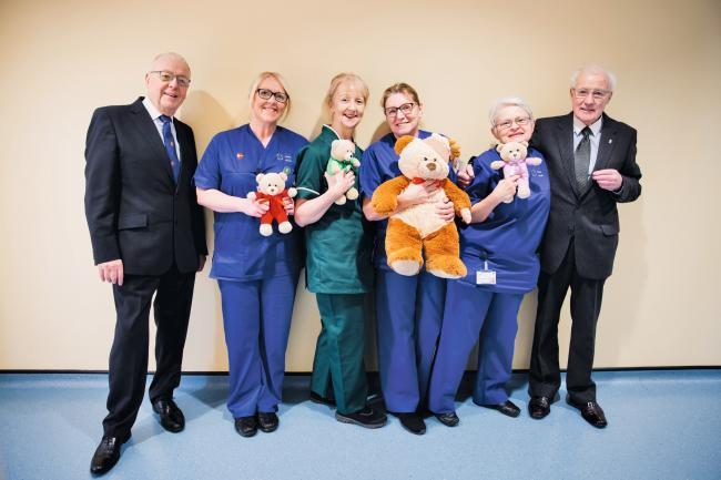 Donation of £5,000 given to Awyr Las serving North Wales health board to provide patients with Tablet PCs