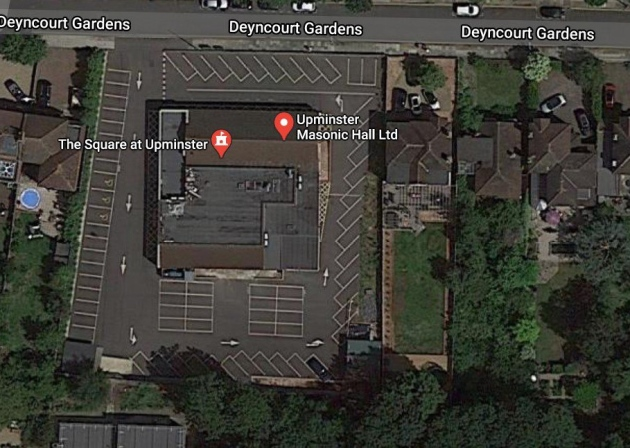 England - Freemasons offer their Upminster car park for free to key workers